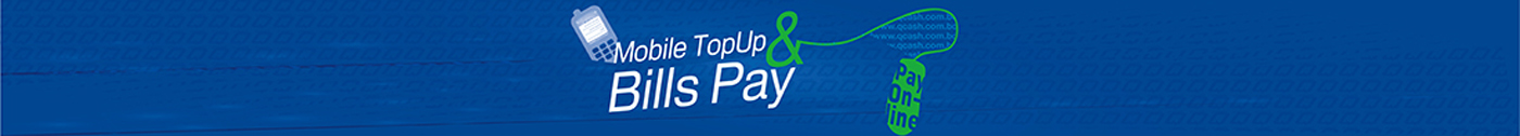 Qcash Topup and Bills Pay